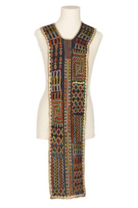 A heavily embroidered boy's tunic