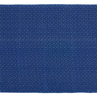 Blue and white printed cotton shweshwe fabric