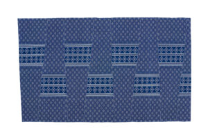 blue and white shweshwe fabric