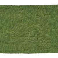 Intricately woven green kente cloth